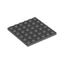 Platte 6x6, dunkelgrau