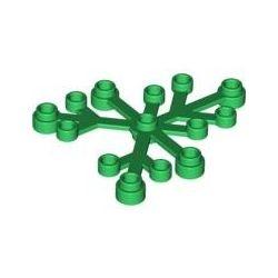 Blätter 6x5, grün
