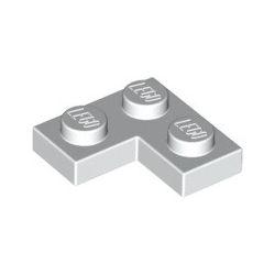 Platte 2x2 Winkel / Ecke, weiss