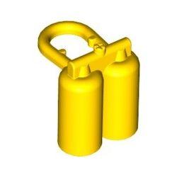 Sauerstoffflaschen, gelb