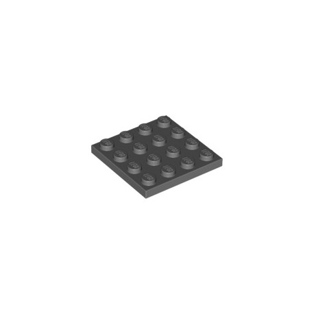 Platte 4x4, dunkelgrau
