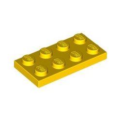 Platte 2x4, gelb