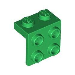 Winkel 1x2 - 2x2, grün