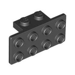 Winkel 1x2 - 2x4, schwarz