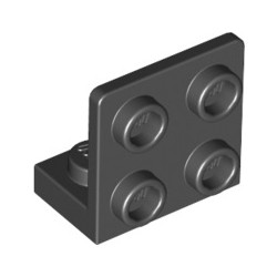 Winkel 1x2 - 2x2 inv, schwarz