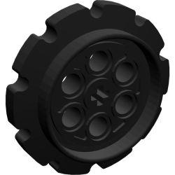 Kettenrad gross, schwarz