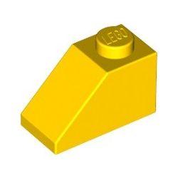 Schrägstein 1x2, gelb