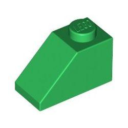 Schrägstein 1x2, grün