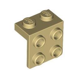 Winkel 1x2 - 2x2, beige