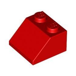 Schrägstein 2x2, rot