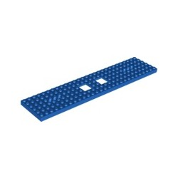 Chassis / Grundplatte 6x28, blau