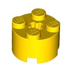 Stein 2x2 rund, gelb