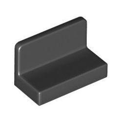 Paneele 1x2x1, schwarz