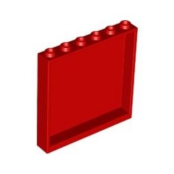 Paneele 1x6x5, rot
