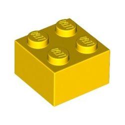 Stein 2x2, gelb