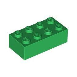 Stein 2x4, grün