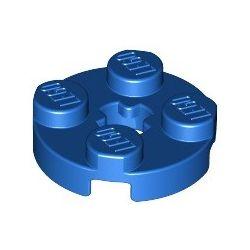 Platte 2x2 rund, blau