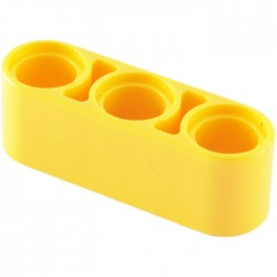 Lochbalken 1 x 3 dick, gelb