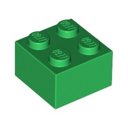 Stein 2x2, grün