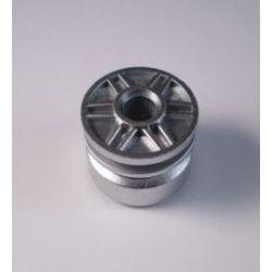 Felge 18mm x 14mm mit Pinloch, silber metallic