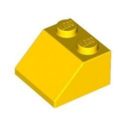Schrägstein 2x2, gelb