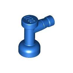 Wasserhahn, blau