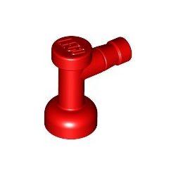 Wasserhahn, rot