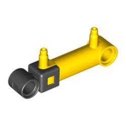 Pneumatik Zylinder 1x5, gelb