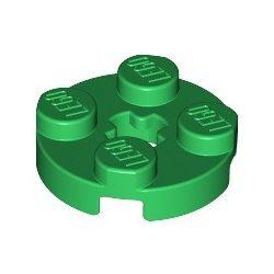 Platte 2x2 rund, grün