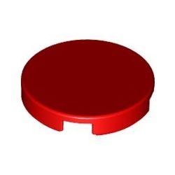 Kachel / Fliese 2x2 rund, rot