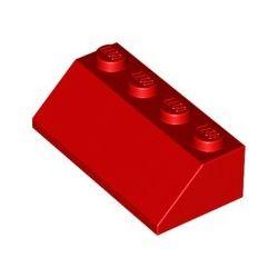 Schrägstein 2x4, rot