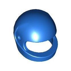 Sturzhelm, blau