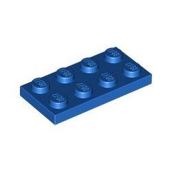 Platte 2x4, blau