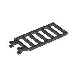 Zaun / Leiter 1x4x6 mit 2 Clips, schwarz