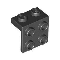 Winkel 1x2 - 2x2, schwarz