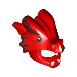 """Maske """"Drache"""", rot"""