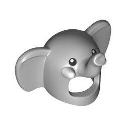 "Maske ""Elefant"", hellgrau"