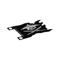 Fahne (Plastik) 7x5, Ninjago Piraten Logo
