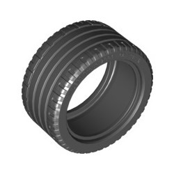 Reifen 56 x 28 ZR, schwarz