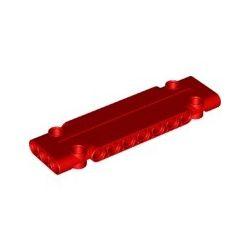 Paneele 3x11x1 mit 4 Pinlöchern, rot
