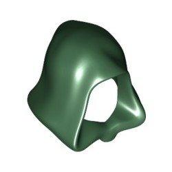 Kapuze, dunkelgrün
