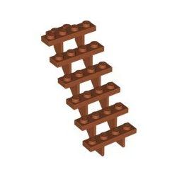 Treppe 7x4x6, braun