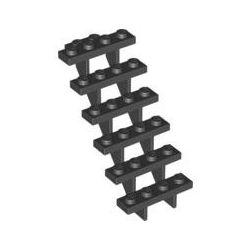 Treppe 7x4x6, schwarz