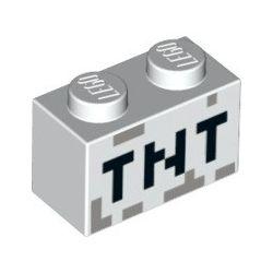 """Stein 1x2 """"TNT"""", weiss"""