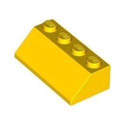 Schrägstein 2x4, gelb