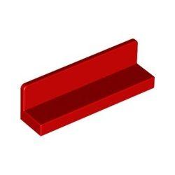 Paneele 1x4x1, rot