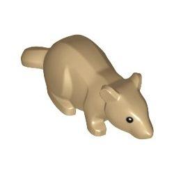 "Ratte ""Scabbers"", dunkelbeige"