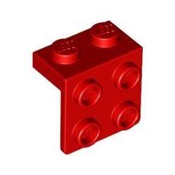 Winkel 1x2 - 2x2, rot
