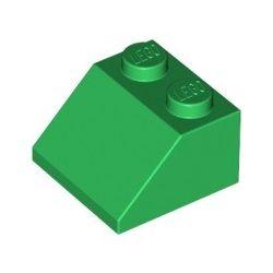 Schrägstein 2x2, grün