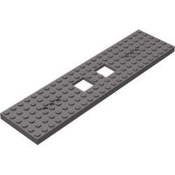 Chassis / Grundplatte 6x24, dunkelgrau